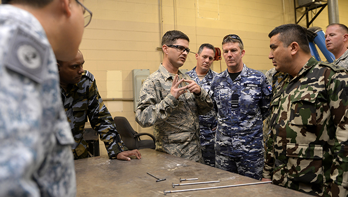 Foreign officers step into Texas Galaxy
