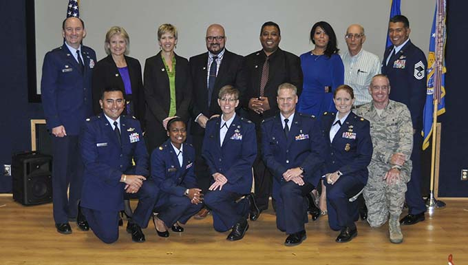 Alamo Wing inducts remaining six honorary commanders