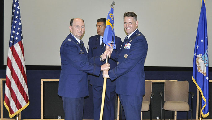 Haynes takes charge of the 433rd Operations Group