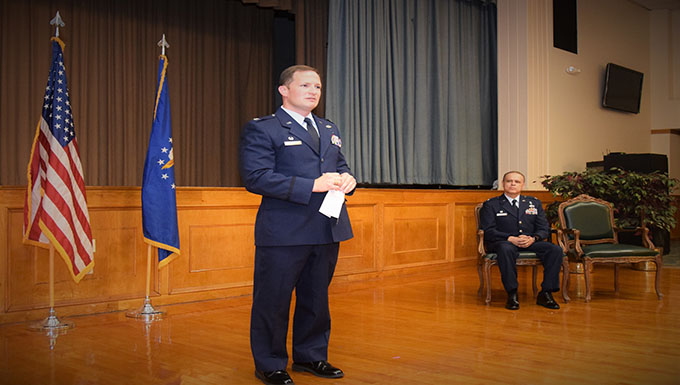 Medical Squadron receives new commander