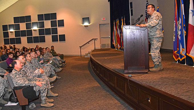 Wing honors CCAF degree recipients