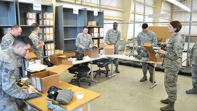 AFRC logistics readiness leader visits Alamo Wing units